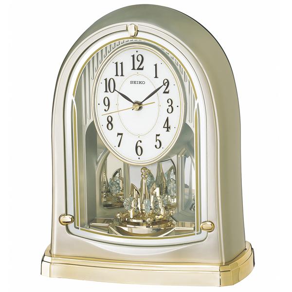 セイコー SEIKO スタンダード 置き時計 BY241G ホワイト