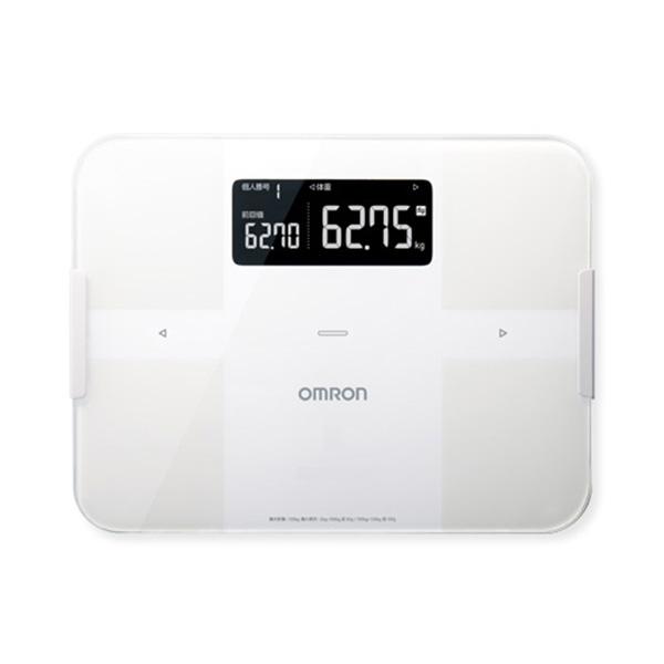 オムロン OMRON 体組成計 体重計 カラダスキャン HBF255T-W 4975479414800 ホワイト
