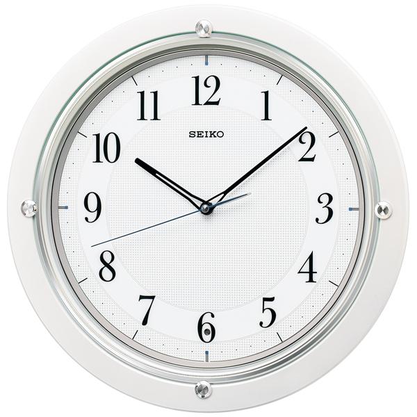 セイコー SEIKO スタンダード 掛け時計 KX217W ホワイト