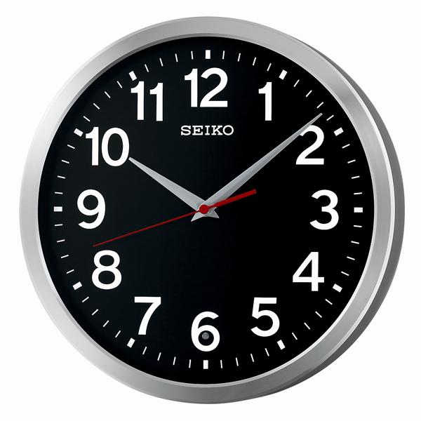 セイコー SEIKO オフィスタイプ 掛け時計 KX227K ブラック