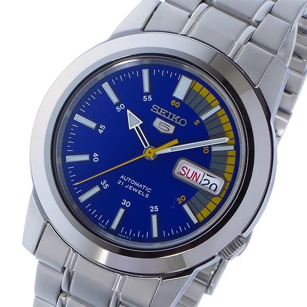 セイコー SEIKO セイコー 5 SEIKO5 自動巻き メンズ 腕時計 時計 SNKK27K1 ブルー