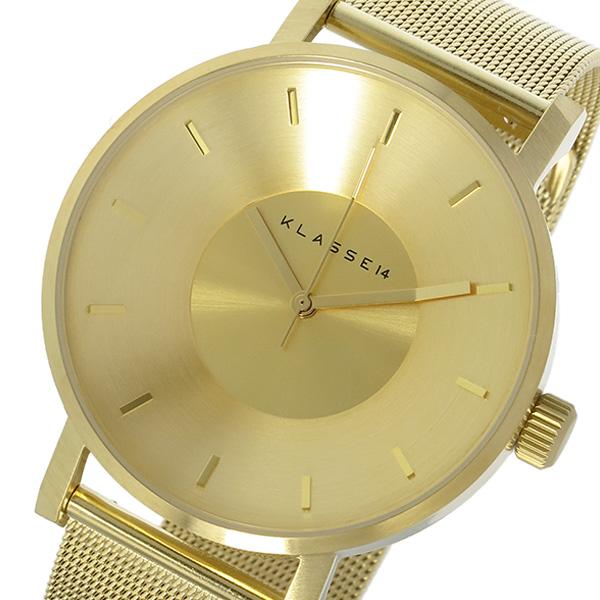 クラス14 KLASSE14 ヴォラーレ Volare 42mm ユニセックス 腕時計 時計 VO14GD002M ゴールド