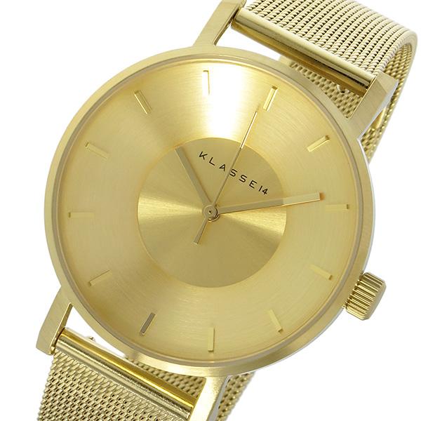 クラス14 KLASSE14 ヴォラーレ Volare 36mm レディース 腕時計 時計 VO14GD002W ゴールド
