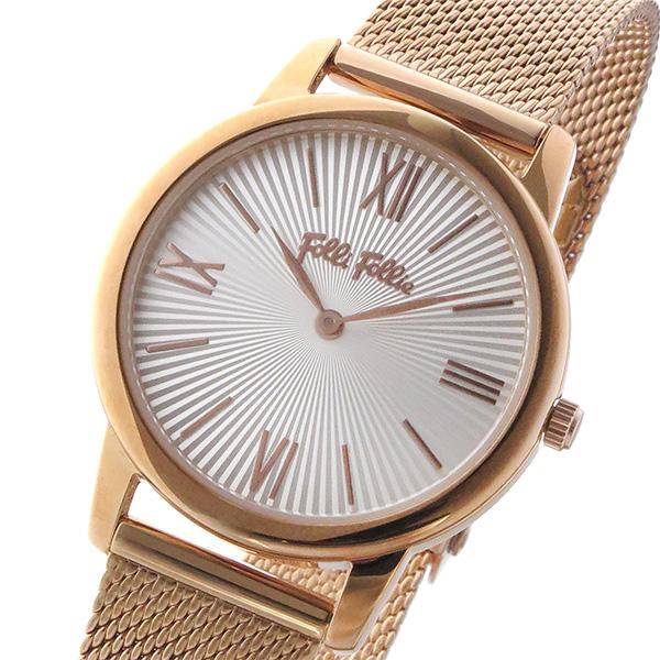 フォリフォリ FOLLI FOLLIE マッチポイント クオーツ レディース 腕時計 時計 WF15R032BPW-XX シルバー