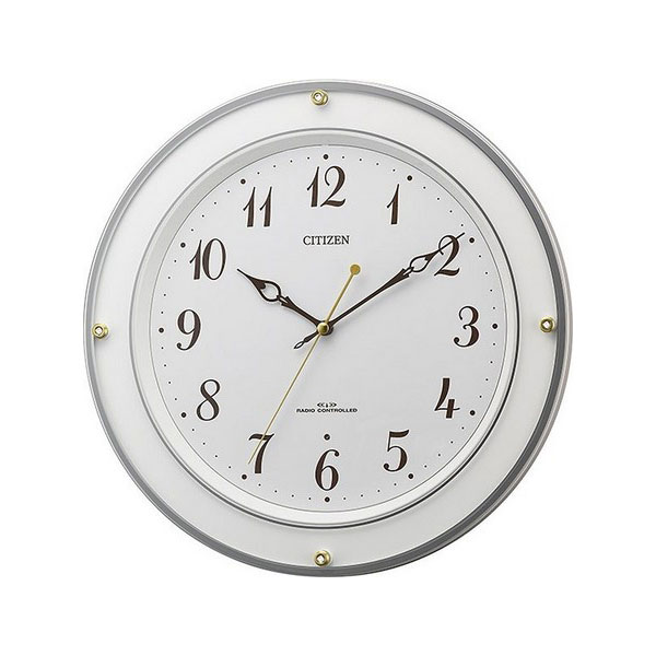 シチズン CITIZEN ユニセックス 掛け時計 8MY518-003 ホワイト