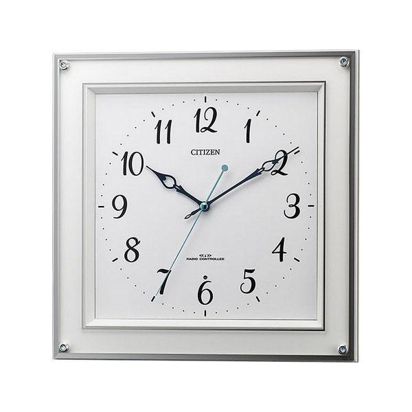 シチズン CITIZEN ユニセックス 掛け時計 8MY519-003 ホワイト