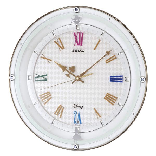 セイコー SEIKO ディズニー ユニセックス 掛け時計 FS509W ホワイトパール