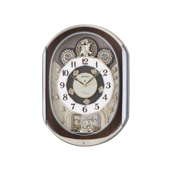 セイコー SEIKO ユニセックス 掛け時計 RE578B ゴールドパール