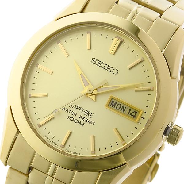 セイコー SEIKO クオーツ ユニセックス 腕時計 時計 SGGA62P1 ゴールド