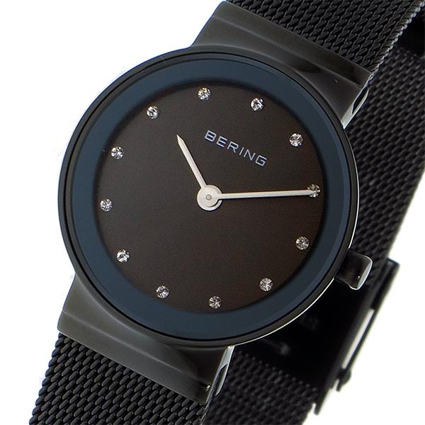 ベーリング BERING クオーツ レディース 腕時計 時計 10126-077 ブラック