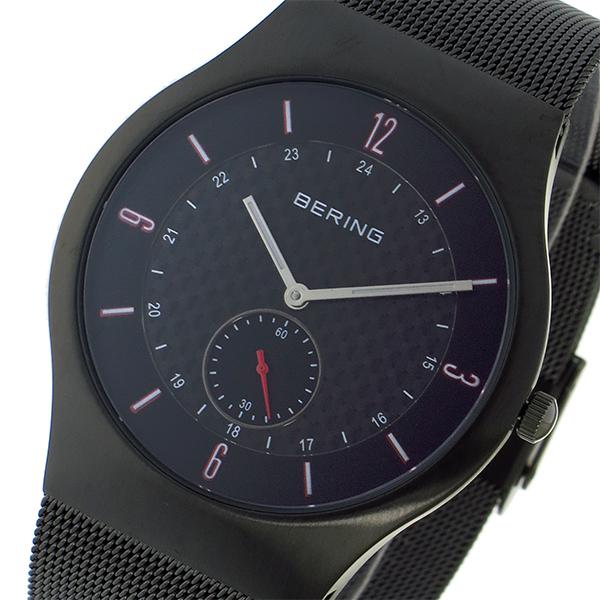 ベーリング BERING クオーツ メンズ 腕時計 時計 11940-377 ブラック