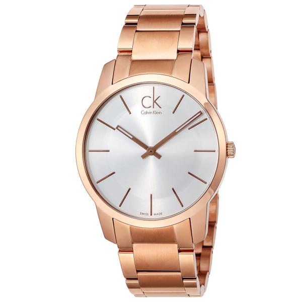 カルバン クライン Calvin Klein シティ クオーツ レディース 腕時計 時計 K2G216.46 シルバー