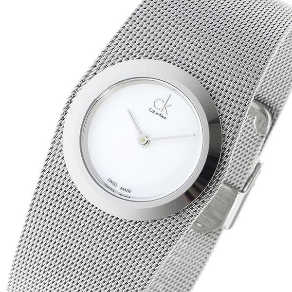 カルバンクライン CALVIN KLEIN クオーツ レディース 腕時計 時計 K3T23126 ホワイト
