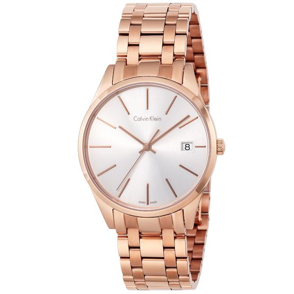 カルバン クライン Calvin Klein タイム クオーツ レディース 腕時計 時計 K4N236.46 シルバー