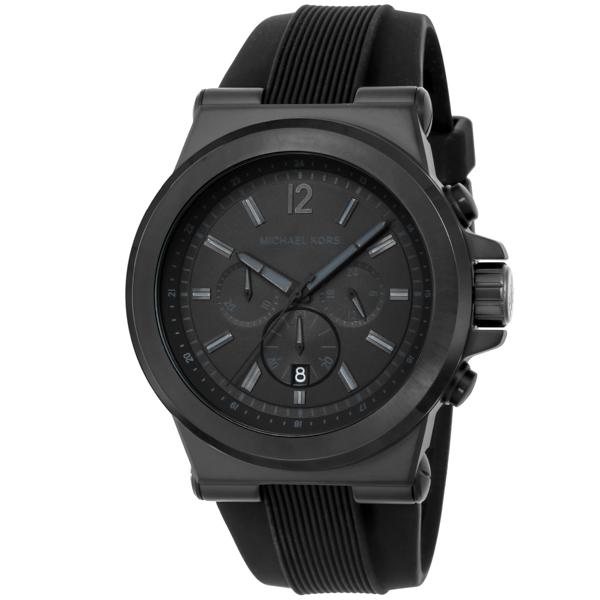 マイケル コース MICHAEL KORS Dylan クロノ クオーツ メンズ 腕時計 時計 MK8152 ブラック