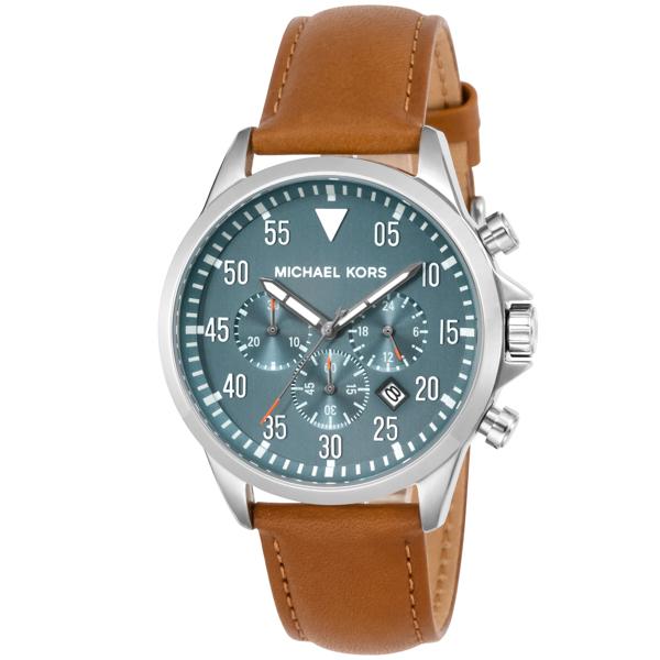 マイケル コース MICHAEL KORS Gage クロノ クオーツ メンズ 腕時計 時計 MK8490 ブルー