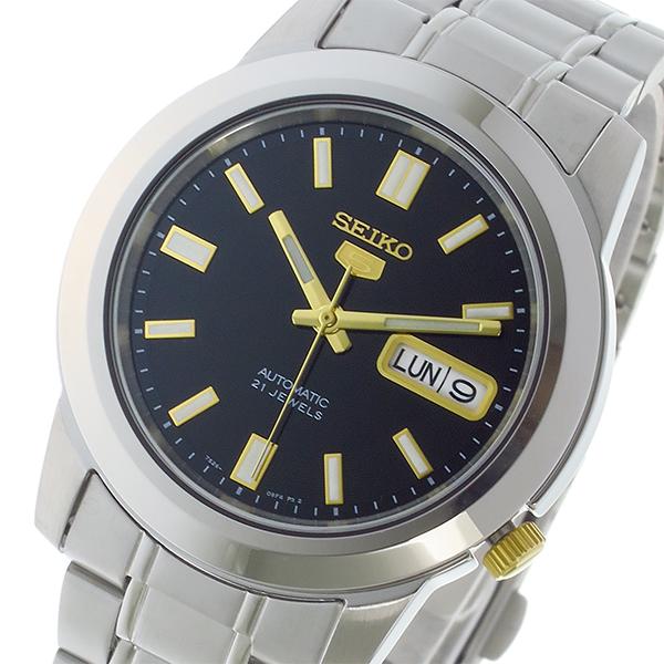 セイコー SEIKO セイコー5 SEIKO 5 自動巻き メンズ 腕時計 時計 SNKK17K1 ブラック