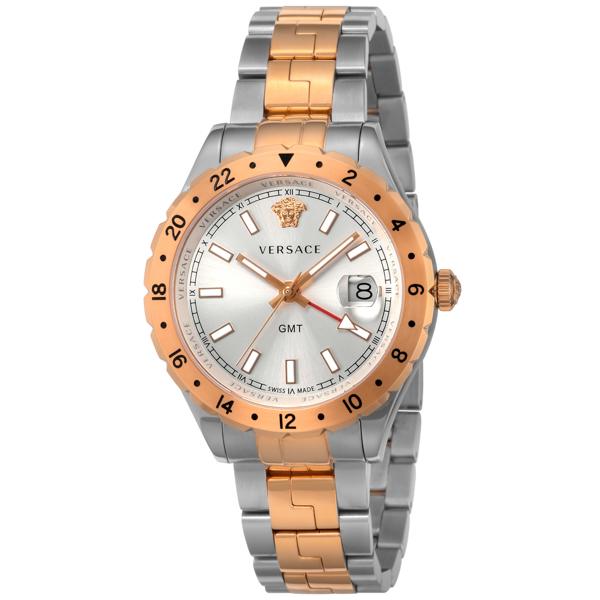 ヴェルサーチ VERSACE HELLENYIUM クオーツ メンズ 腕時計 V11030015 シルバー【送料無料】