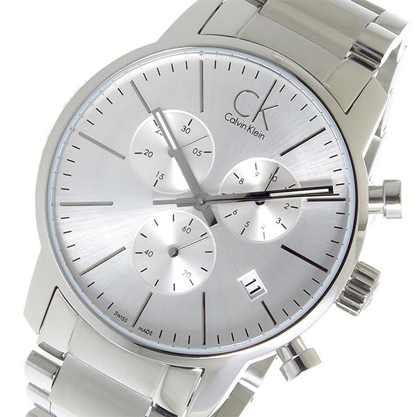 カルバン クライン CALVIN KLEIN クオーツ メンズ 腕時計 時計 K2G27146 シルバー