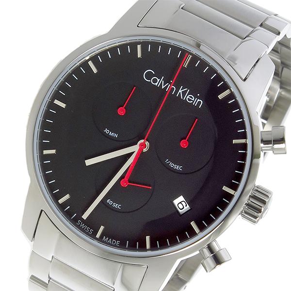 カルバン クライン CALVIN KLEIN クオーツ メンズ 腕時計 時計 K2G271C1 ブラック【ポイント10倍】