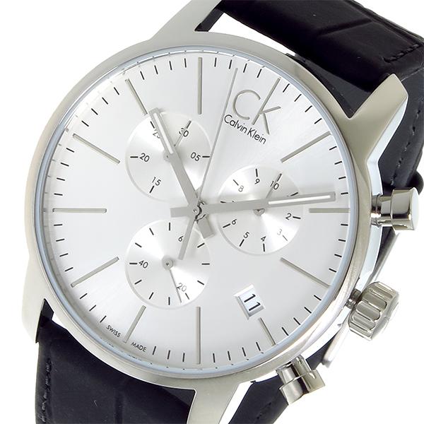 カルバン クライン CALVIN KLEIN クオーツ メンズ 腕時計 時計 K2G271C6 シルバー