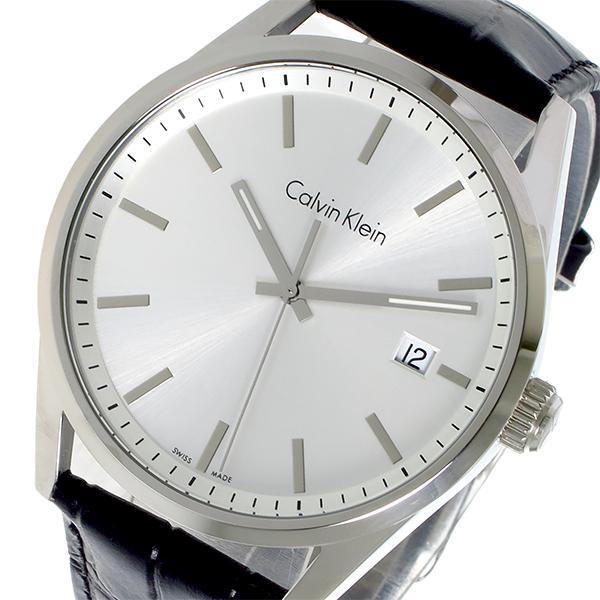 カルバン クライン CALVIN KLEIN クオーツ メンズ 腕時計 時計 K4M211C6 シルバー