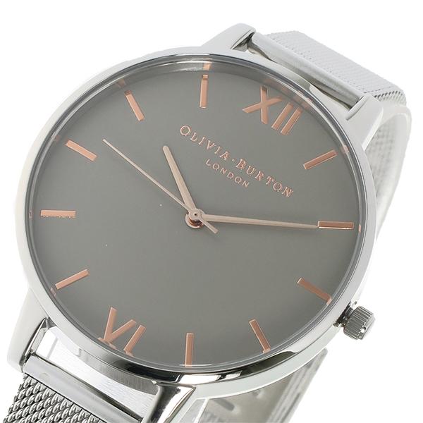 オリビアバートン OLIVIA BURTON クオーツ レディース 腕時計 時計 OB15BD80 グレー