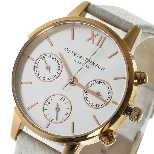 オリビアバートン OLIVIA BURTON クオーツ レディース 腕時計 時計 OB15CGM56 ホワイト