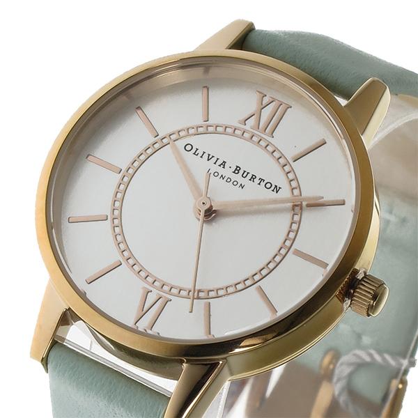 オリビアバートン OLIVIA BURTON クオーツ レディース 腕時計 時計 OB15WD47 シルバー