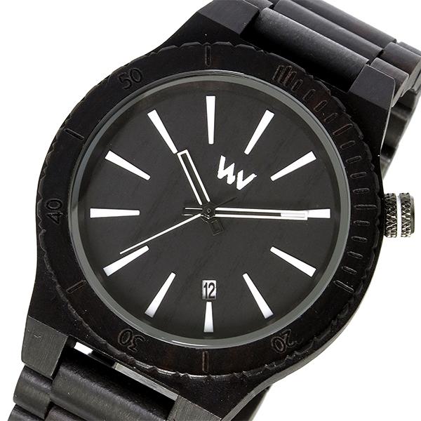 ウィーウッド WEWOOD 木製 ASSUNT BLACK アサント メンズ 腕時計 時計 9818097 ブラック 国内正規
