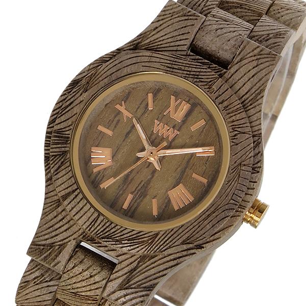 ウィーウッド WEWOOD 木製 CRISS WAVES NUT ROUGH クリス レディース 腕時計 時計 9818106 ブラウン 国内正規