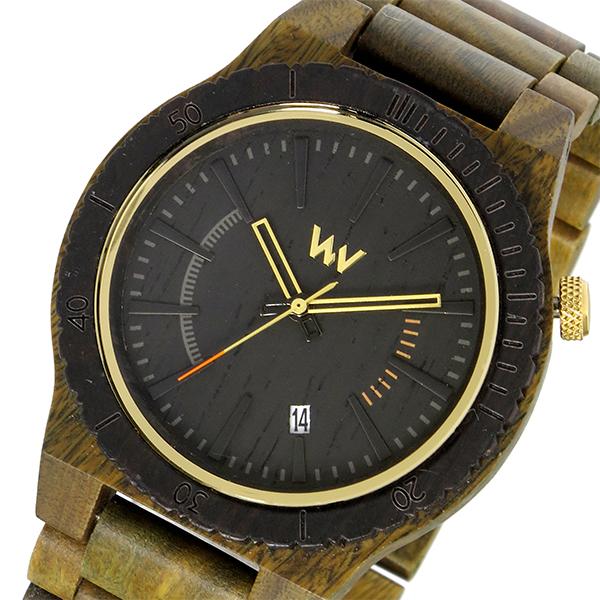 ウィーウッド WEWOOD 木製 ASSUNT ARMY アサント メンズ 腕時計 時計 9818114 ブラック 国内正規