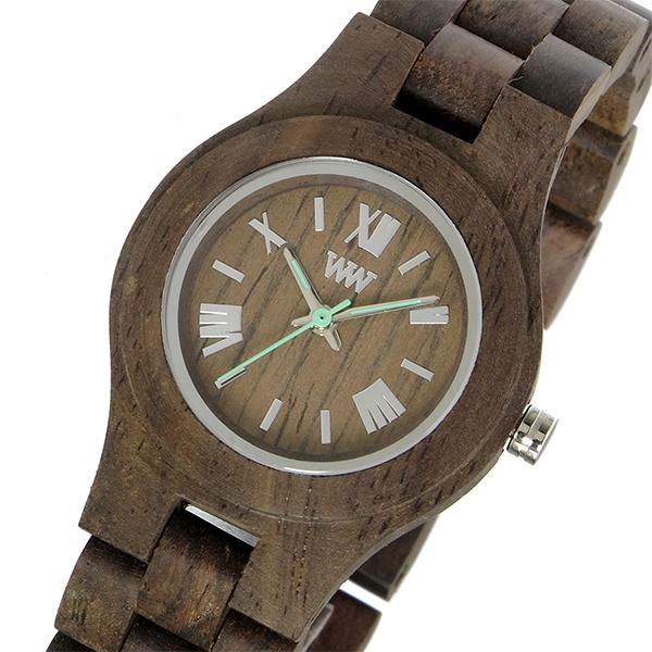 ウィーウッド WEWOOD 木製 CRISS CHOCO ROUGH クリス レディース 腕時計 時計 9818116 チョコレート 国内正規