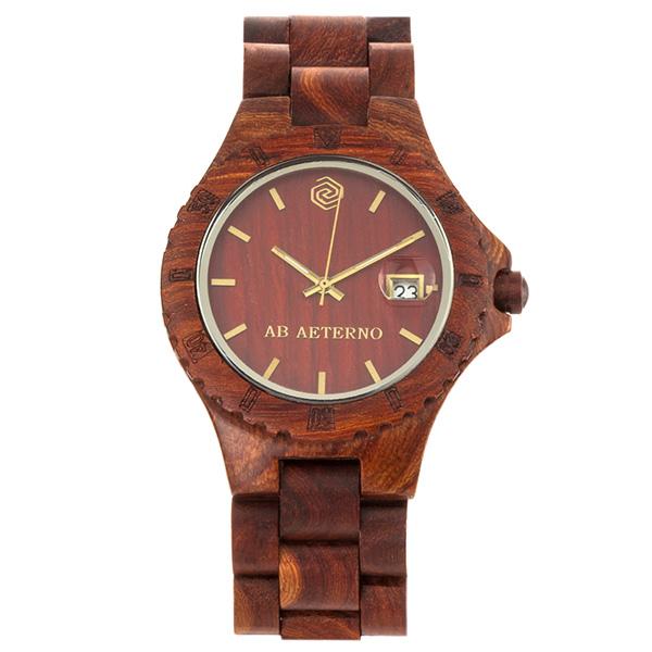 アバテルノ AB AETERNO ネイチャー ロッキー ROCKY 40mm ユニセックス 腕時計 時計 9825019 レッドブラウン