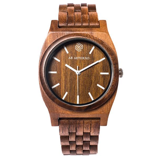 アバテルノ AB AETERNO ホライゾン ジャーニー ホワイト 40mm ユニセックス 腕時計 時計 9825034 ブラウン