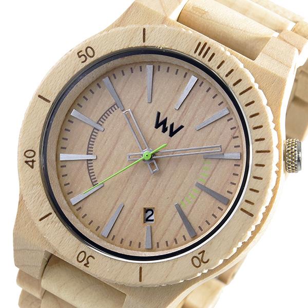 ウィーウッド WEWOOD 木製 メンズ 腕時計 時計 ASSUNT-BE ベージュ 9818049 国内正規
