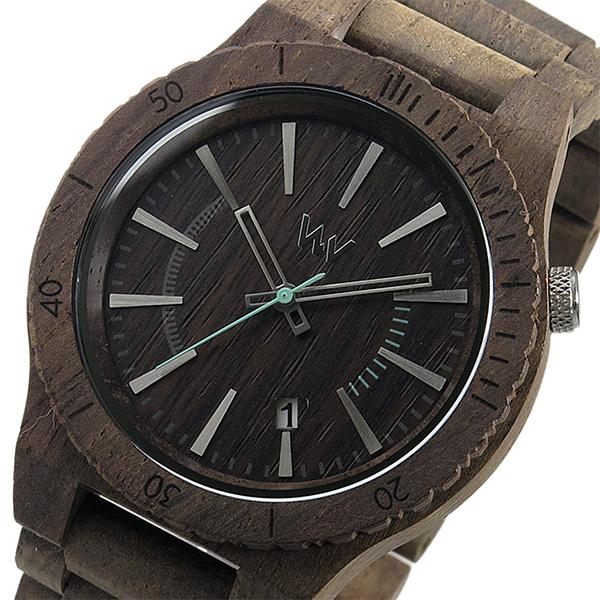 ウィーウッド WEWOOD 木製 メンズ 腕時計 時計 ASSUNT-CHOCO-ROU チョコ 9818086 国内正規