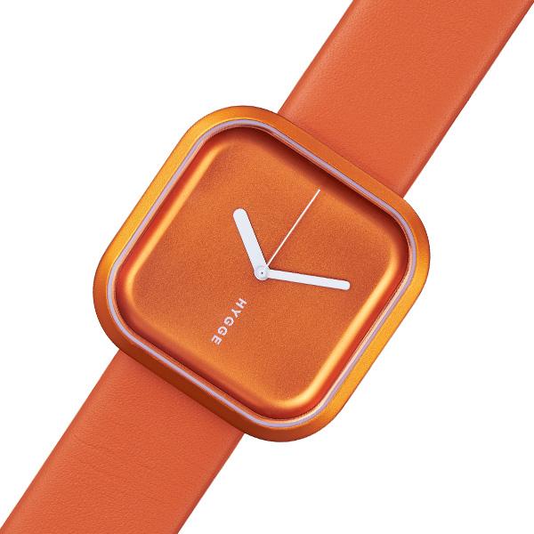 ピーオーエス POS ヒュッゲ HYGGE バリ Vari レディース 腕時計 時計 HGE020074(MSL3133/SO) オレンジ