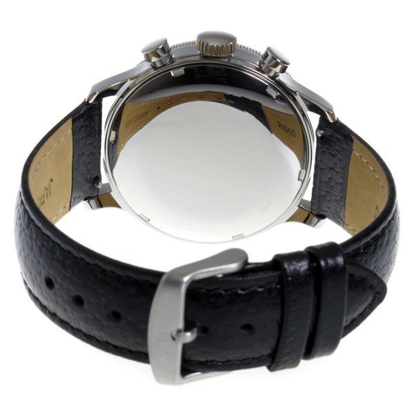 ゾンネ SONNE パイロット クロノ クオーツ メンズ 腕時計 時計 HI003BK BK ブラックdECxBorWQe