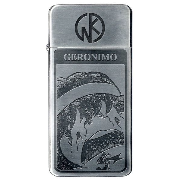 キンニクマンライター 薄型オイルライター キン肉マンシリーズ ジェロニモ 4582406737453
