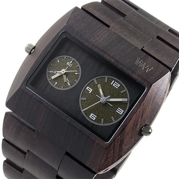 ウィーウッド WEWOOD 木製 メンズ 腕時計 時計 JUPITER-RS-BLACK ブラック 9818093 国内正規