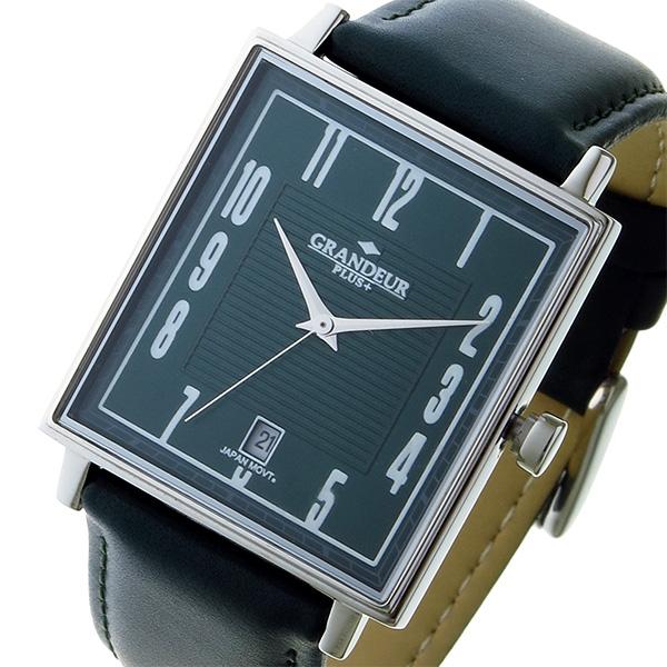グランドール GRANDEUR プラス PLUS クオーツ ユニセックス 腕時計 時計 GRP009W3 グリーン