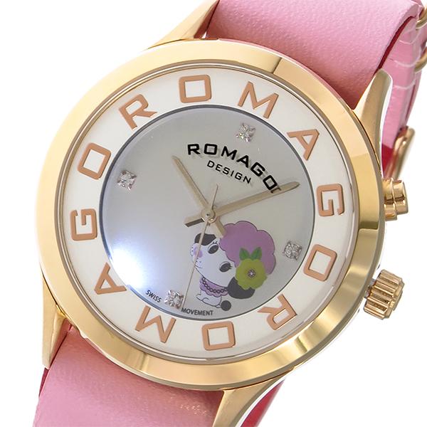 ロマゴデザイン ROMAGO DESIGN チチ ニューヨーク コラボ 限定品 レディース 腕時計 時計 RM067-0512ST-PK