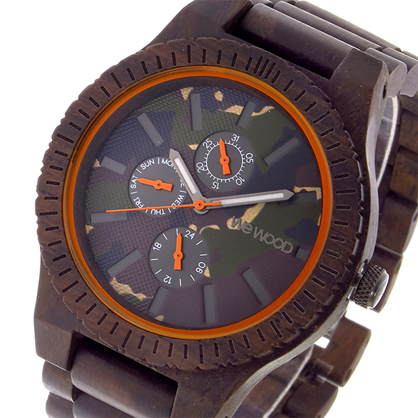 ウィーウッド WEWOOD KOS CHOCO CAMO クオーツ メンズ 腕時計 時計 9818133 カモフラージュ 国内正規