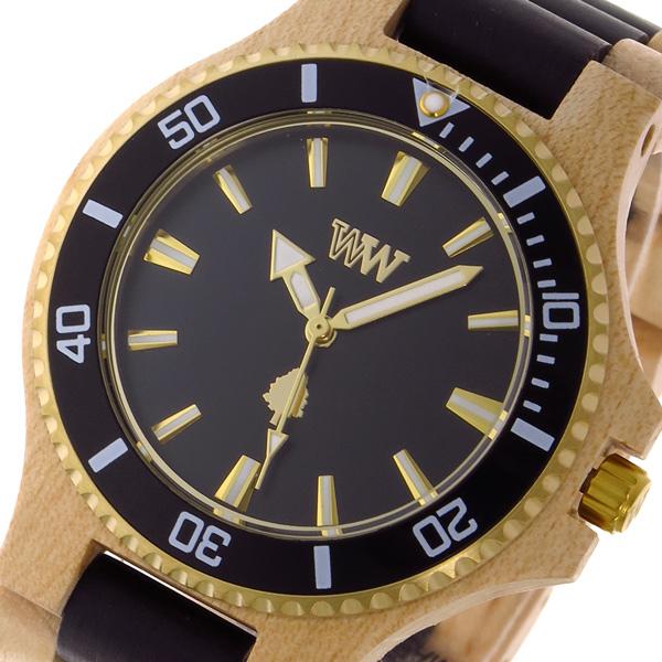 ウィーウッド WEWOOD DATE MB BEIGE BLACK クオーツ メンズ 腕時計 時計 9818150 ブラック 国内正規