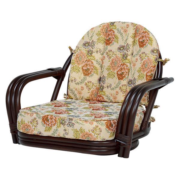萩原 回転座椅子(ダークブラウン) RZ-931DBR 4934257231794 【代引き不可】