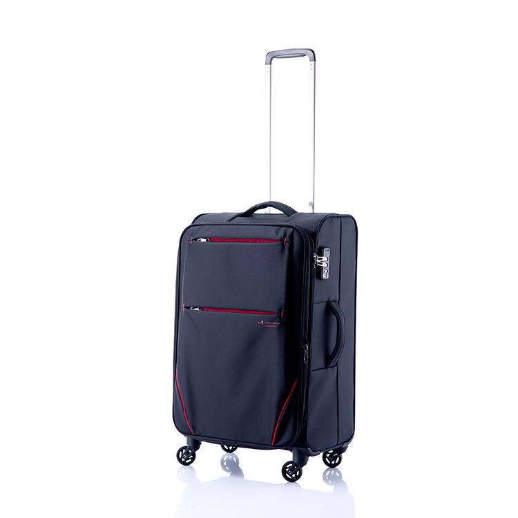 ヒデオワカマツ HIDEO WAKAMATSU フライ スーツケース 85-76011 ブラック【inte_D1806】