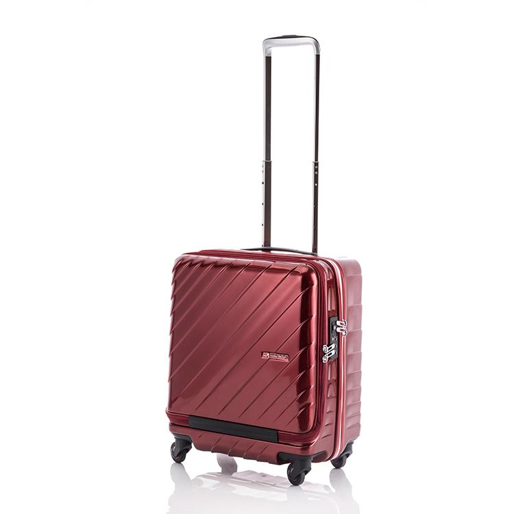 ヒデオワカマツ HIDEO WAKAMATSU マックスキャビン ウェーブ スーツケース 85-76293 ワイン