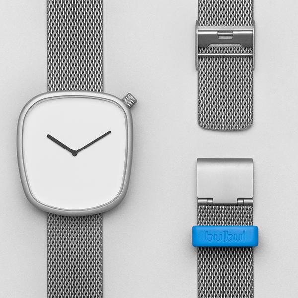 ピーオーエス POS ブルブル BULBUL Pebble P06 ユニセックス 腕時計 BLB020012【送料無料】