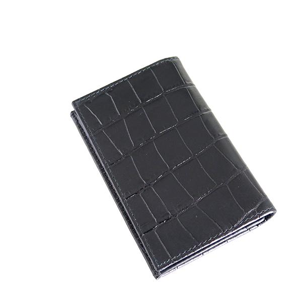 エッティンガー ETTINGER 名刺入れ メンズ CC143J-EBONY ブラック